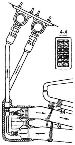 Устройство ввода и вывода воды для охлаждения обмотки статора
